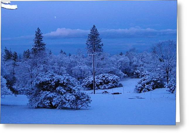 Pre-dawn Light Greeting Card