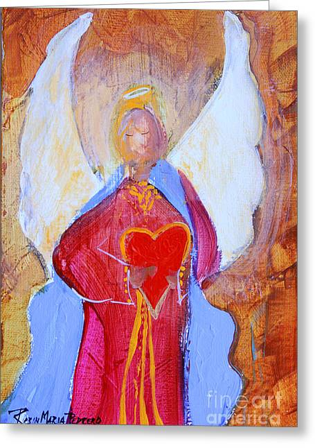 Precious Heart Angel Greeting Card