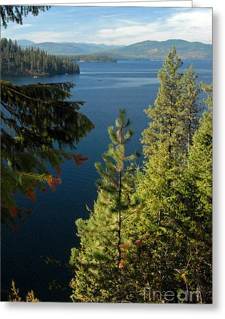 Preist Lake Idaho Greeting Card