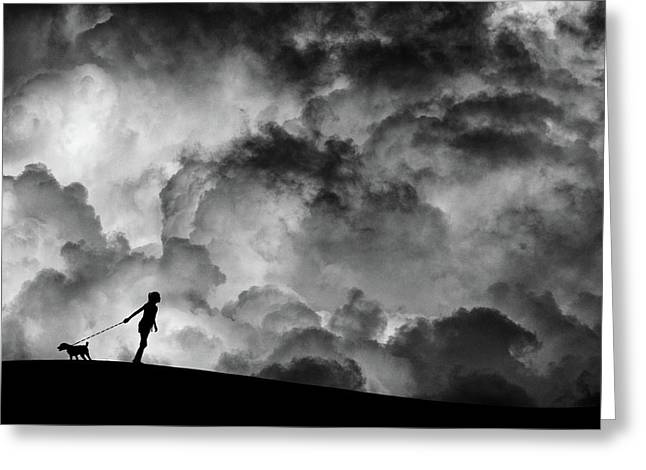 Prelude To The Dream Greeting Card by Hengki Lee