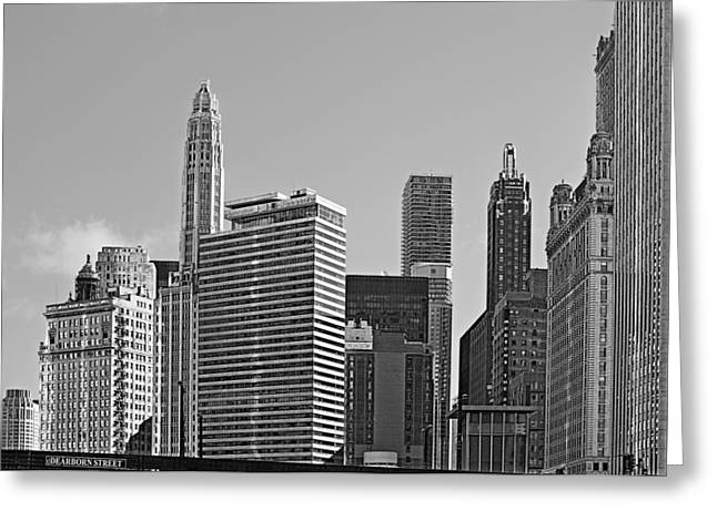 Premier Destination Chicago Greeting Card by Christine Till