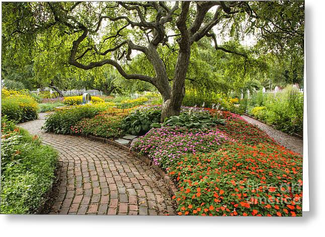 Prescott Park - Portsmouth New Hampshire Greeting Card