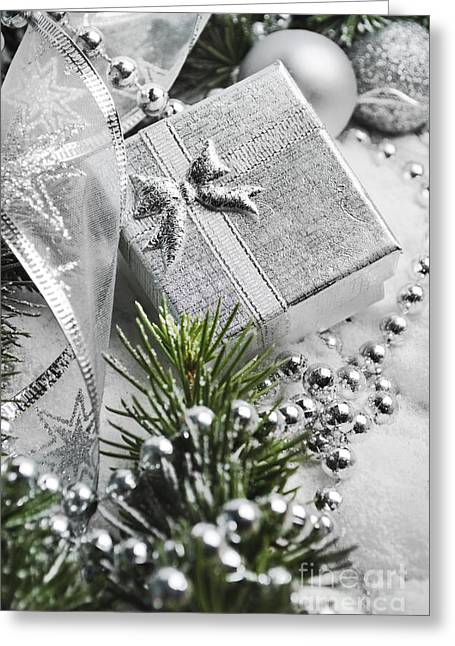 Present Greeting Card by Jelena Jovanovic