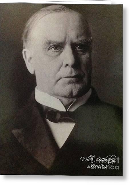President William Mckinley 1897-1901 Greeting Card