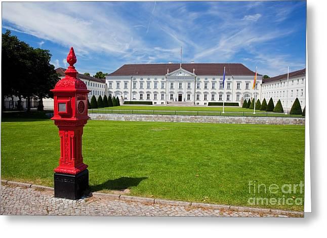 Presidential Palace Berlin Germany Greeting Card by Michal Bednarek