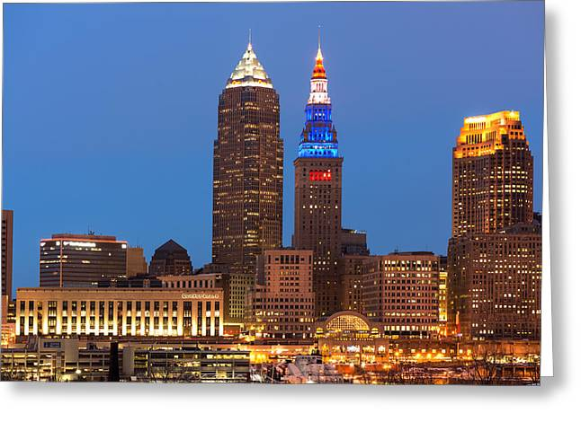 President's Day In Cleveland 2014 2 Greeting Card