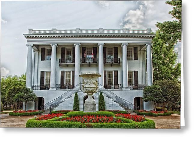 President's Mansion - University Of Alabama Greeting Card