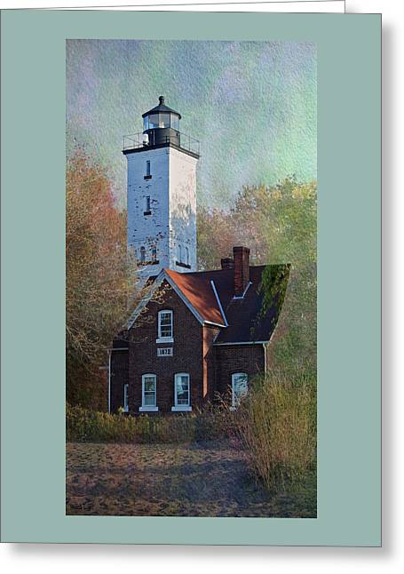 Presque Isle Lighthouse Greeting Card