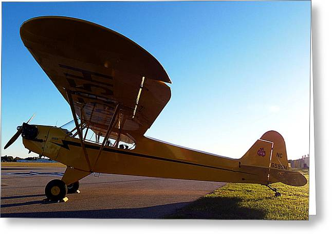 Preston Aviation Piper Cub 003 Greeting Card