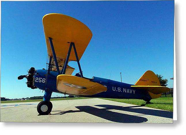 Preston Aviation Stearman 001 Greeting Card