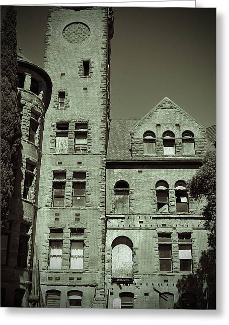 Preston Castle Tower Greeting Card
