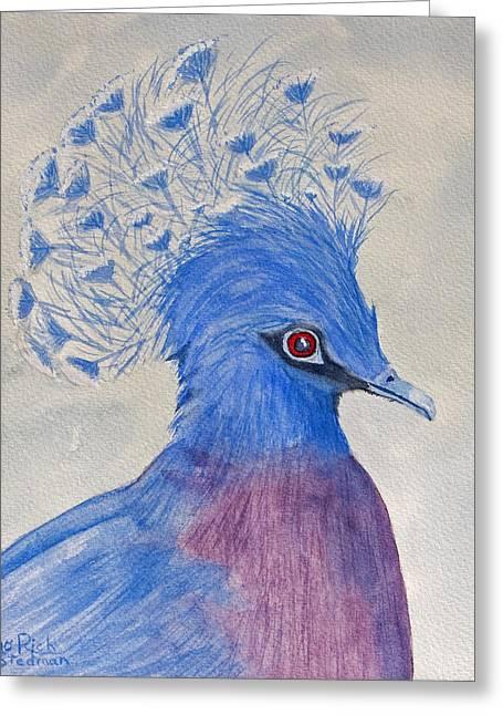 Preston Pigeon Greeting Card