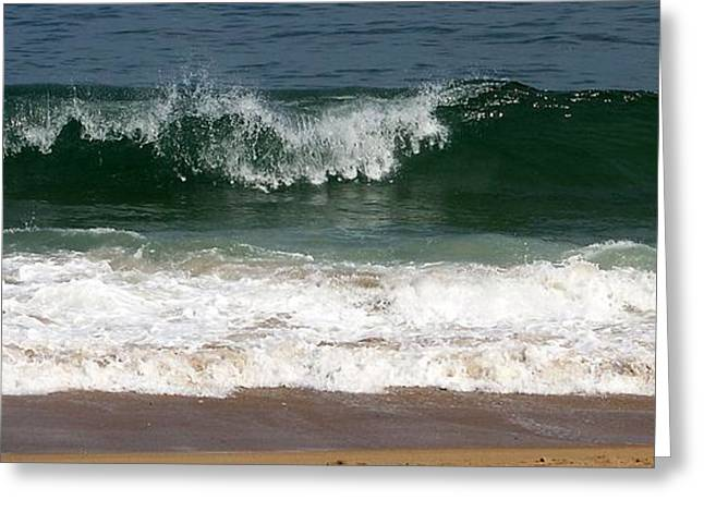 Pretty Wave Greeting Card by Eunice Miller