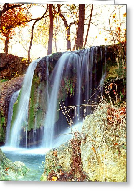 Greeting Card featuring the photograph Price Falls 5 Of 5 by Jason Politte