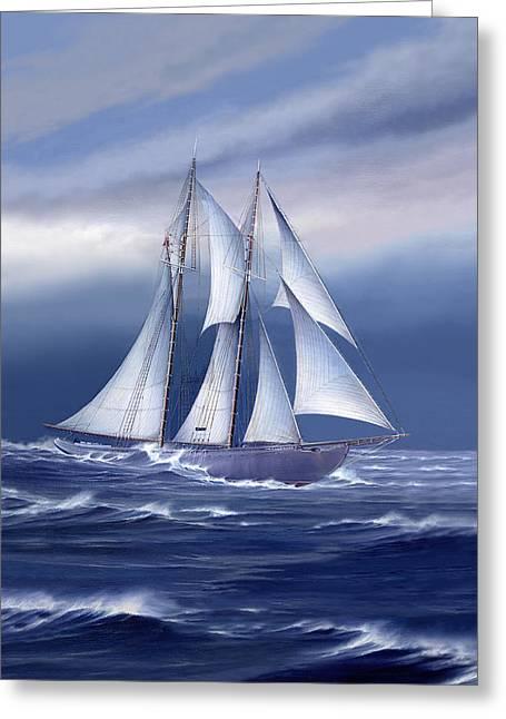Pride Of Nova Scotia Greeting Card by Captain Bud Robinson