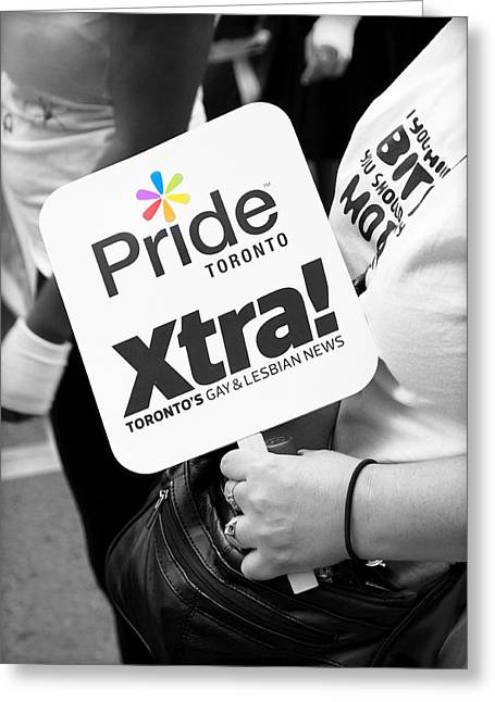 Pride Toronto Greeting Card