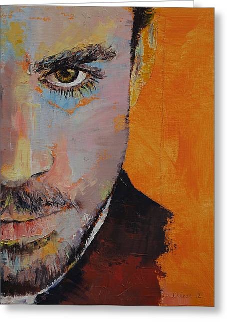 Priest Greeting Card by Michael Creese