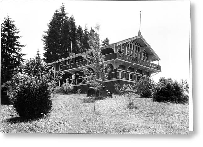 Priest Point Park Chalet Summer 1940 Greeting Card