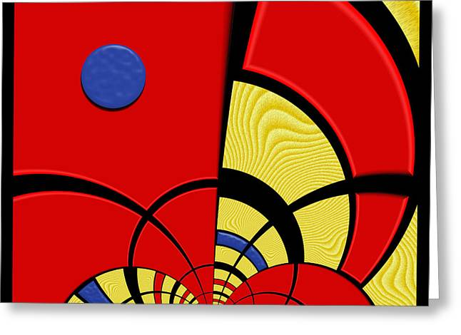 Primary Motivations 3 Greeting Card by Wendy J St Christopher