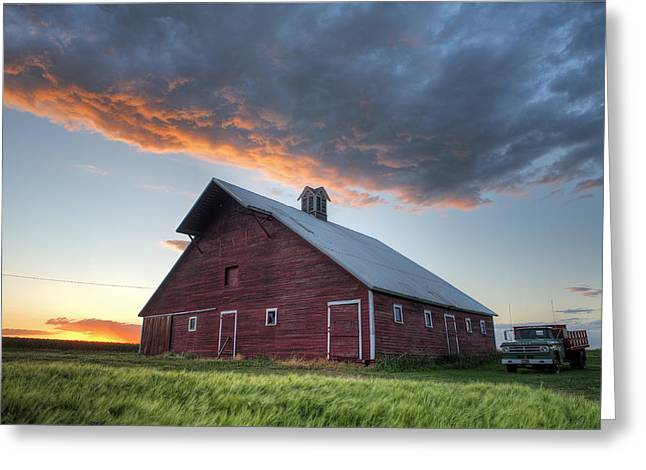 Primary Palouse Colors Greeting Card