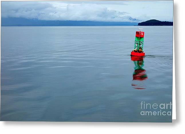 Greeting Card featuring the photograph Prime Real Estate  by Jacqueline Athmann