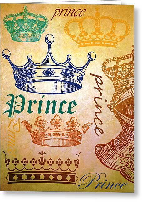 Prince 2 Greeting Card