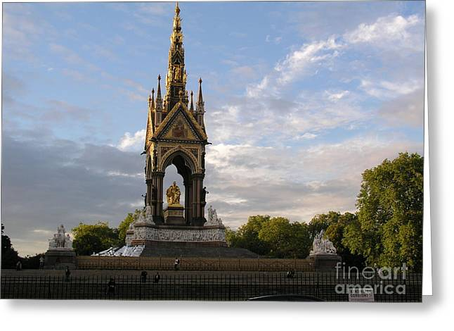 Prince Albert Memorial Greeting Card by Bev Conover