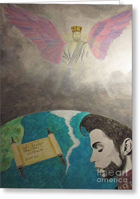 Prince And Prayer Greeting Card