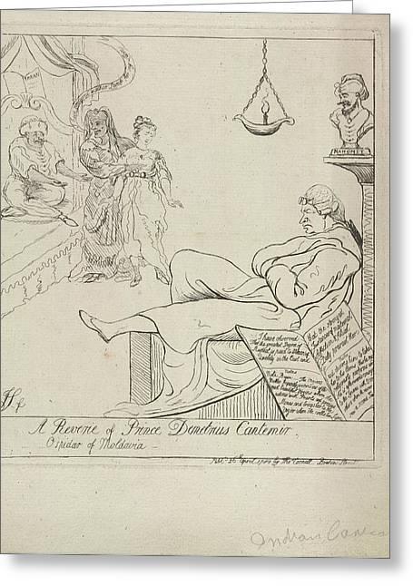 Prince Demetrius Cantemir Greeting Card