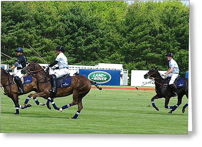 Prince Harry Greenwich Polo Club Greeting Card