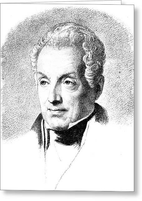 Prince Metternich (1773-1859) Greeting Card by Granger