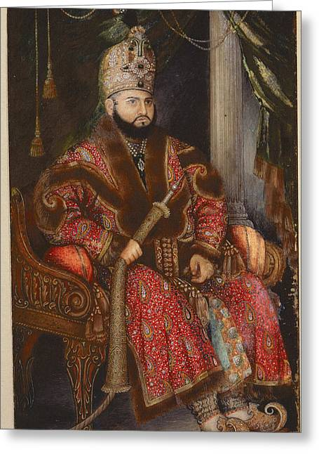 Prince Mirza Muhammad Salim Greeting Card by British Library