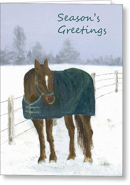 Prince Seasons Greetings Greeting Card