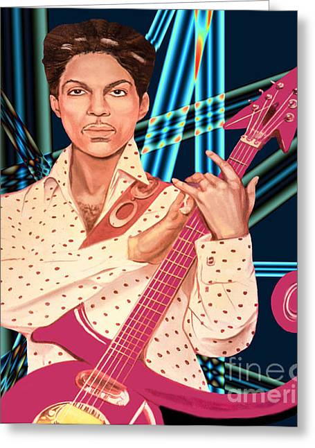 Prince Unpronounceable Symbol Greeting Card by Gary Keesler