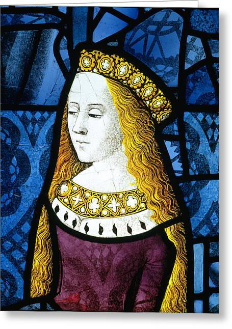 Princess Cecily C.1485 Greeting Card by English School