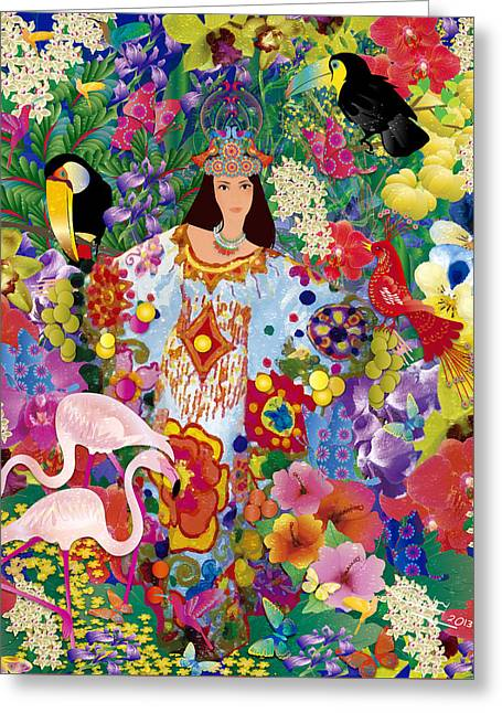 Princess Guajira Greeting Card
