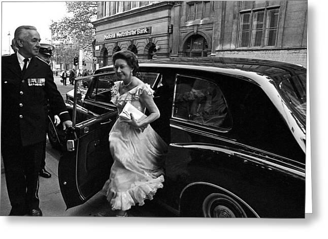 Princess Margaret Greeting Card by Nancy Clendaniel