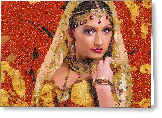 Princess Of Spice Greeting Card by Marina Likholat