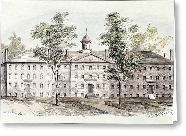 Princeton College, 1760 Greeting Card by Granger