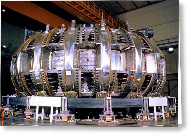 Princeton Tokamak Fusion Test Reactor Greeting Card