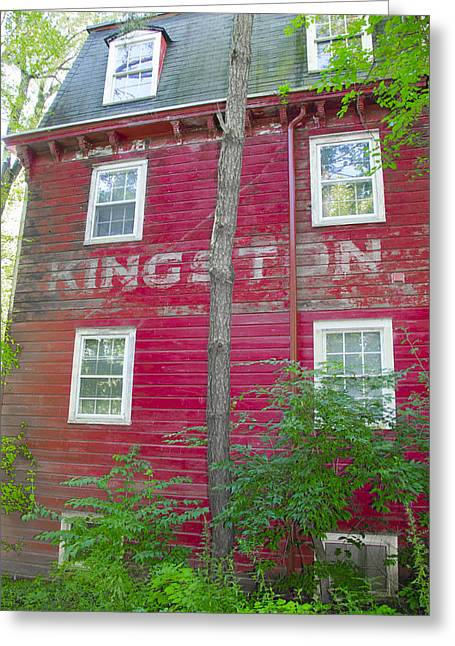 Princeton's Kingston Mill Side View Greeting Card