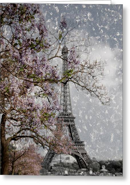 Printemps Parisienne Greeting Card by Joachim G Pinkawa