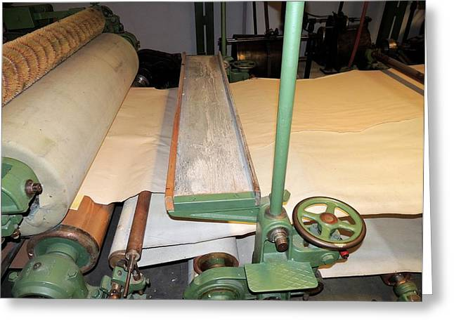 Printing Press Early Twentieth Century Greeting Card