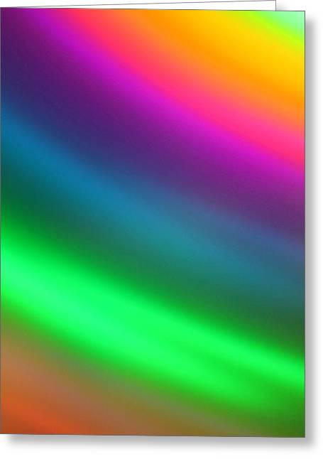 Prismatic Greeting Card