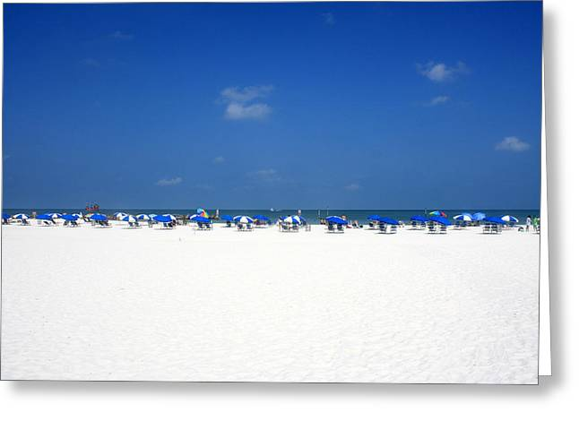 Pristine Clearwater Greeting Card
