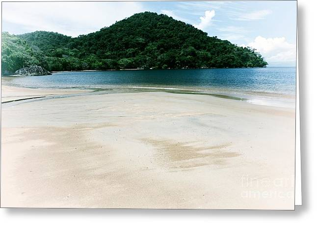 Private Beach Greeting Card