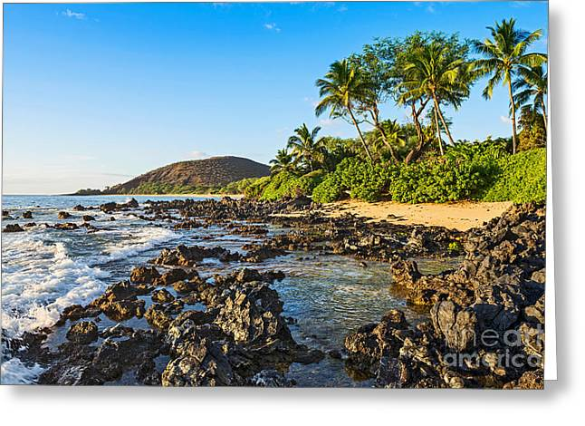 Private Paradise Greeting Card by Jamie Pham