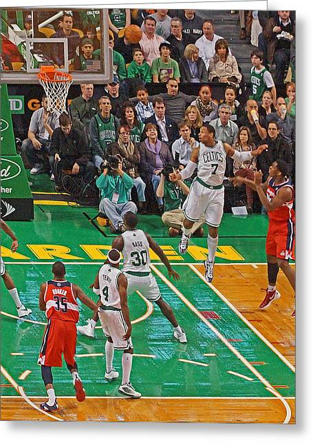 Pro Hoops 035 Greeting Card