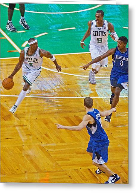 Pro Hoops 040 Greeting Card