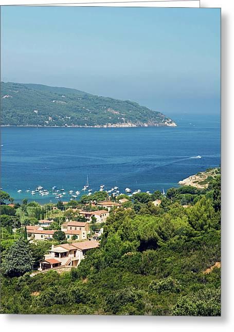 Procchio, Isola D'elba, Elba, Tuscany Greeting Card by Nico Tondini